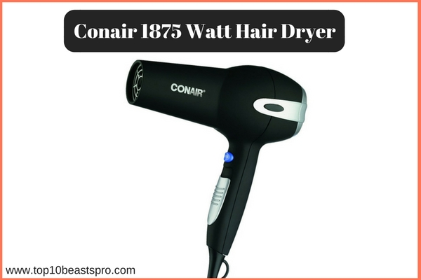 Conair 1875 Watt Hair Dryer Review
