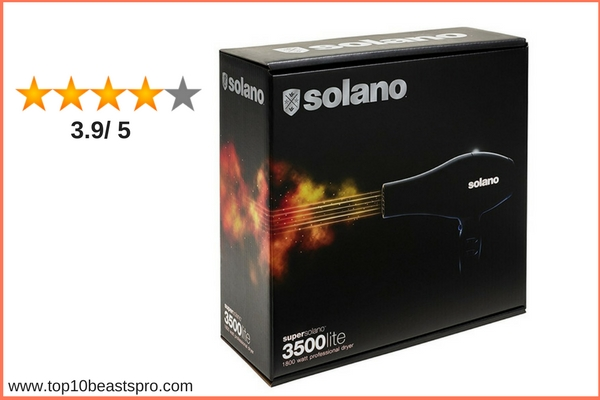 Solano Supersolano 3500 Lite Professional Hair Dryer Top Rated