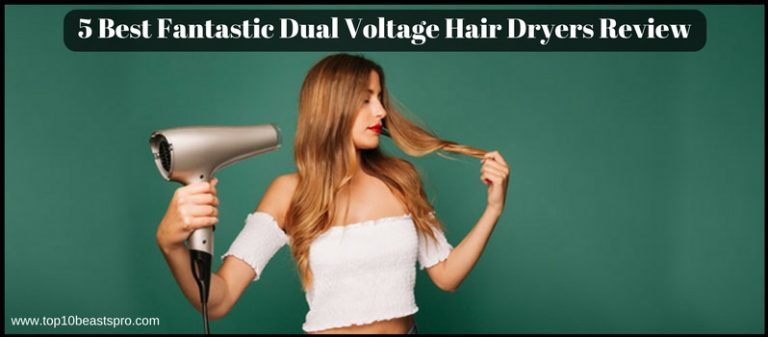 Top Best 5 Fantastic Dual Voltage Hair Dryers Review From Amazon